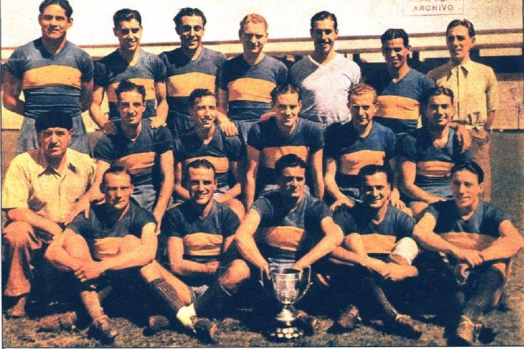 Club Atlético Boca Juniors, con la COPA CAMPEONATO 1940. Pts.55, JJ-34, G-24, E-7, P-3, Gf-85, Gc-36, Dif.-49, esa temporada él Vasco ISIDRO LANGARA (CASLA) junto con el Paraguayo Delfín Benítez Cácerez, (Racing) fueron campeones goleadores con 33 tantos.