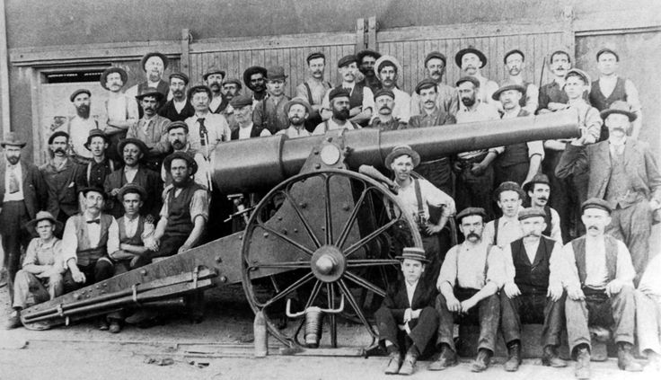 """During the Second Boer War, Kimberly found itself beseiged by the Boers, but unlike Ladysmith, which had been reinforced prior to its investment, there was a lack of any artillery larger than the small 2.5 inch mountain guns. As such, workers from De Beers began building one. The 4.1 inch gun was named """"Long Cecil"""" after Cecil Rhodes who was present in the town through the siege. Although not enough to turn the tide against the Boers, the creation and use of the gun was a great morale…"""