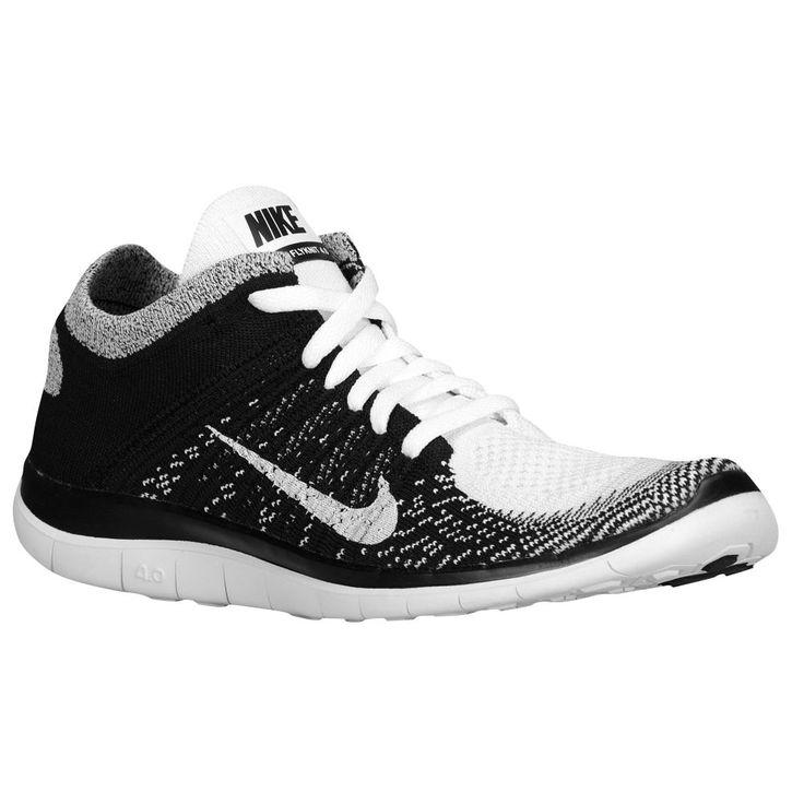 wmns nike free flyknit white black volt white chaussurechaussures nike femmeschaussures nike pas cherchaussures de course