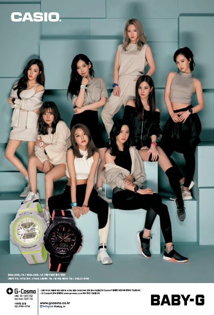 See SNSD's latest pictures from CASIO ~ Wonderful Generation ~ All About SNSD, Wonder Girls, and f(x)