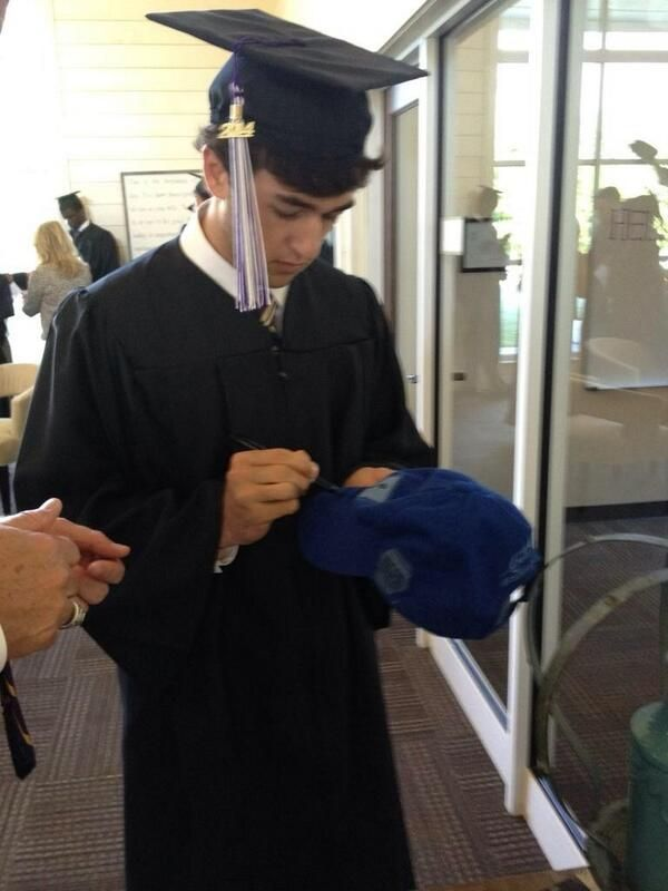 Congratulations to Chase Elliott...Class of 2014! Now on to what promises to be a great racing career!