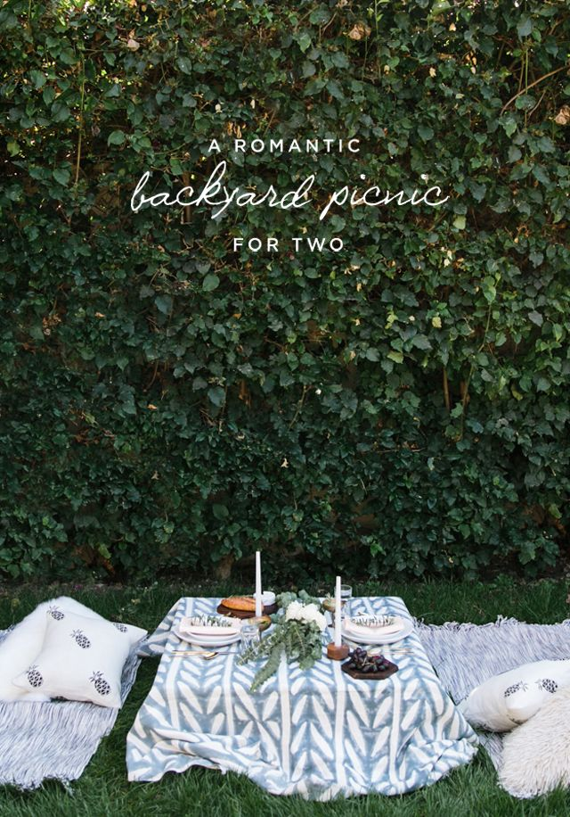 dining al fresco picnic for two
