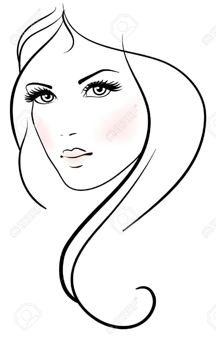 Line Drawing Face Earrings : Best fashion art images on pinterest