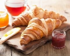 Croissant au beurre - Une recette CuisineAZ