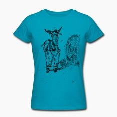DreamSplats Donkey t-shirt. There are cats in a hat and there are donkeys in a hat. This one is a bit of a redneck, but cute and friendly none the less. He wears pants and loves his straw bale.