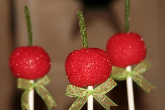 Cherry cake pops: Mom Killers, Cherries Pop, Cakes Cookies, Originals Design, Cakes Pop, Cherries Cakes, Cookies Originals, Favors Ideas, Cherries Cakepops