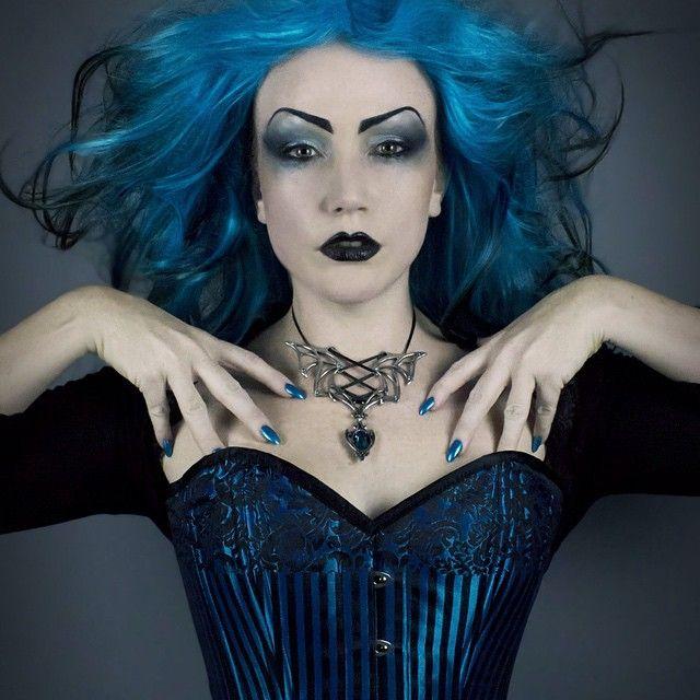 The ever beautiful Lady Amaranthine wearing Alchemy Gothic.