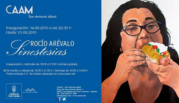 Noche y Día Gran Canaria: Exposiciones - 14/06 a 01/09: 'Sinestesias' de Rocío Arévalo en el CAAM
