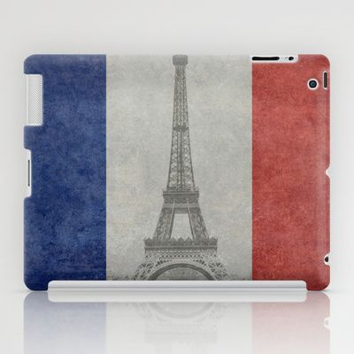 National Flag of France - Vintage Version iPad Case by LonestarDesigns2020 - Flags Designs + - $60.00