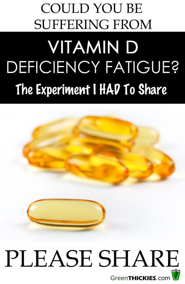 Could you be suffering from Vitamin D Deficiency Fatigue?  Read my experiments with Vitamin D Now.