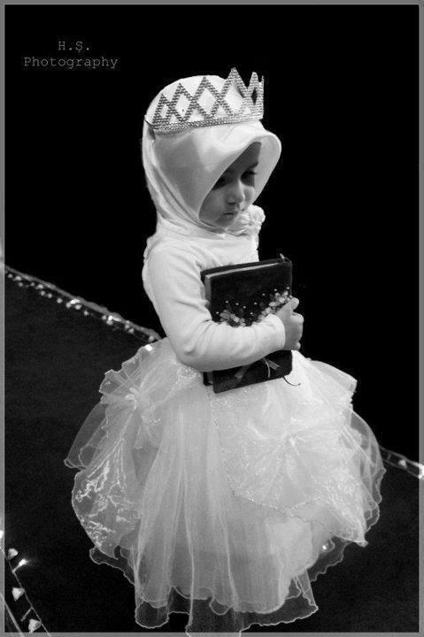 Even Muslim girls can be ballerinas:)<3