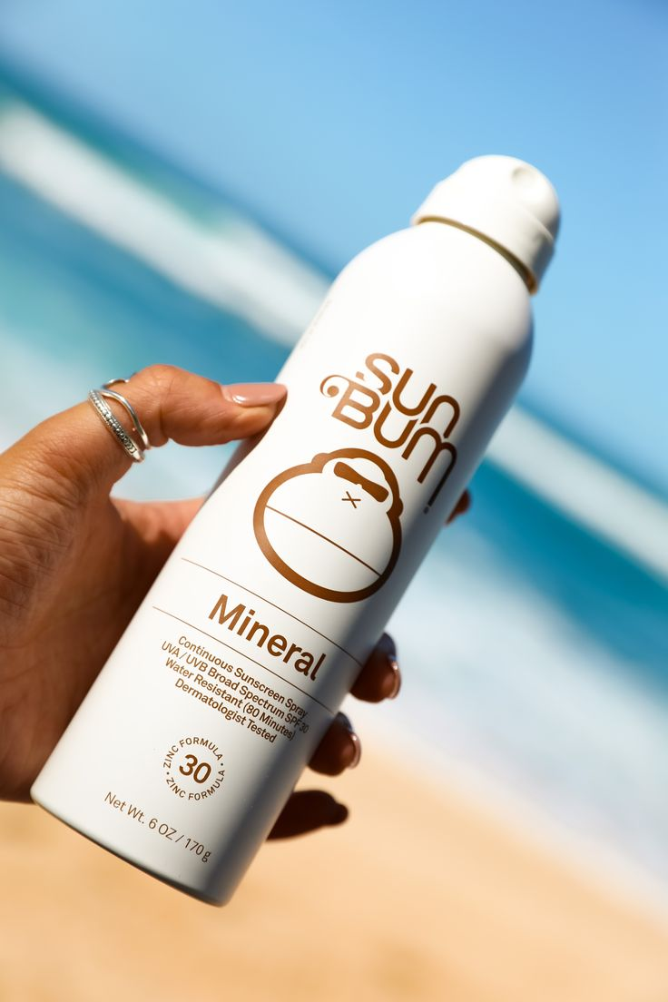 Mineral SPF 30 Sunscreen Spray in 2020 Mineral sunscreen