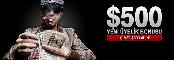 Hepsibahis 500$ Poker Bonusu