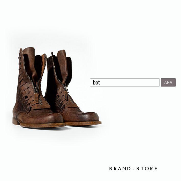 Kış Modu | Ayakkabı tutkumuzu botlara çevirelim. Tüm marka, model ve renklerden botlar ---> http://brnstr.co/1taoX6Y #brandstore #erkek #bot