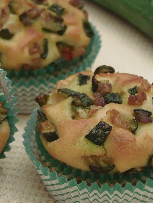 Ricetta Muffin salati alle zucchine
