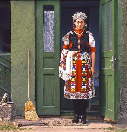 Traditional Slovak/Czech  Dress