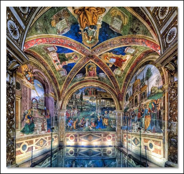 Pinturicchio - Baglioni Chapel - Santa Maria Maggiore - Spello