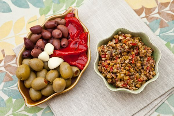 Italian Food Forever » Chunky Olive Spread