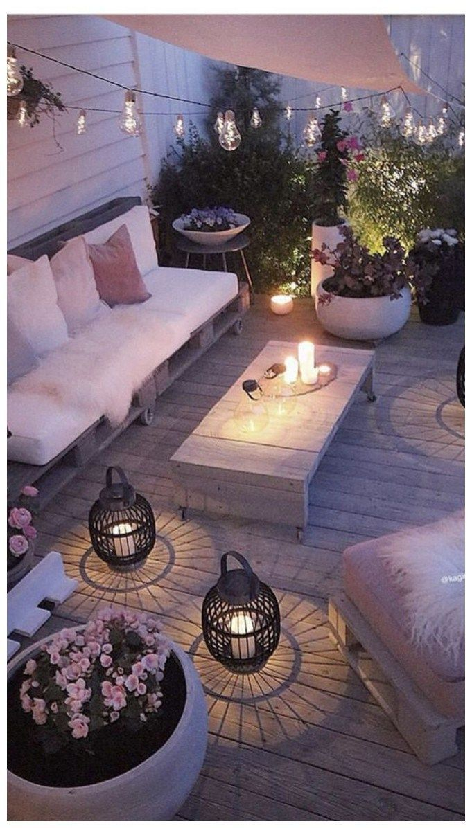 57 brilliant ideas for your outdoor lounge 41