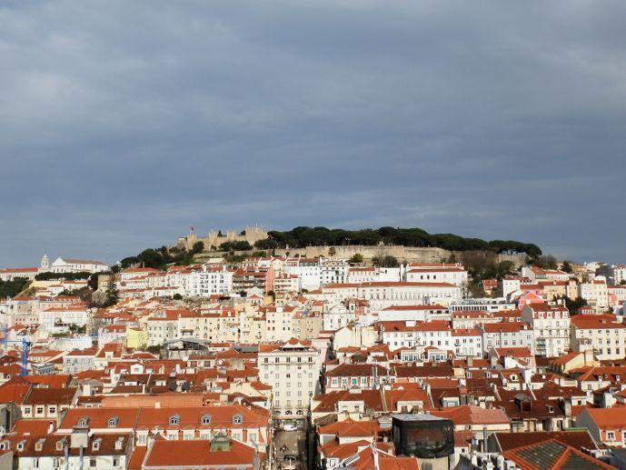 visiter lisbonne 3 jours : chateau sao jorge de lisbonne