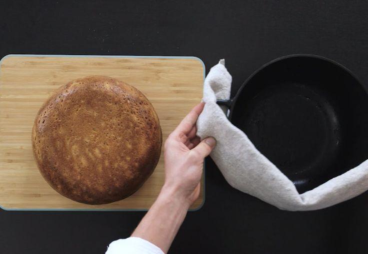 Sådan laver du det lækreste grydebagte brød
