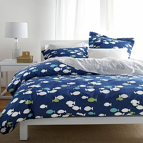 Minnow--200tc, cotton percale, duvet cover and 2 shams, $89-- guest berth