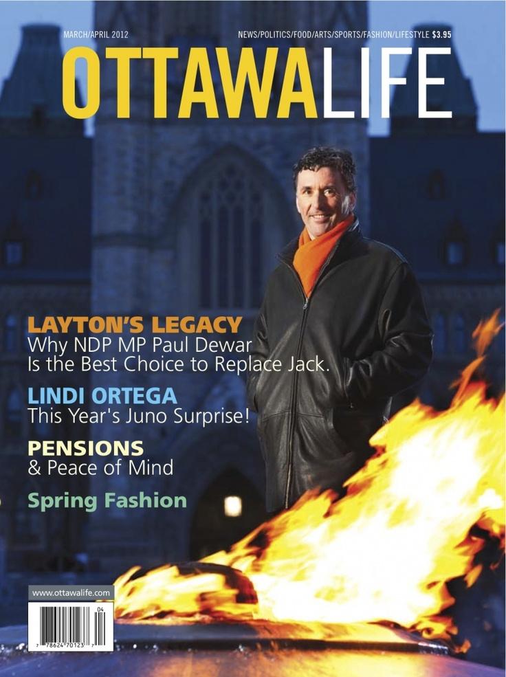 My recent portrait of NDP Leadership hopeful Paul Dewar. http://www.couvrette-photography.on.ca