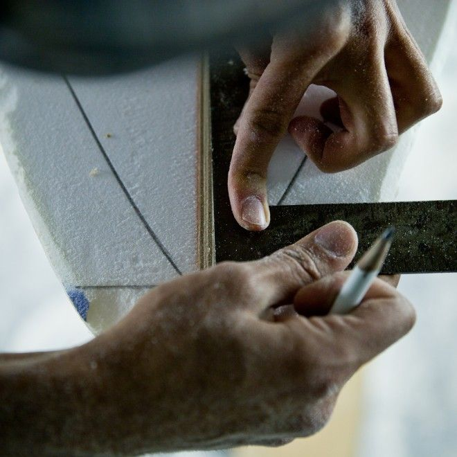 Surfboard Shaping | James Mitchell