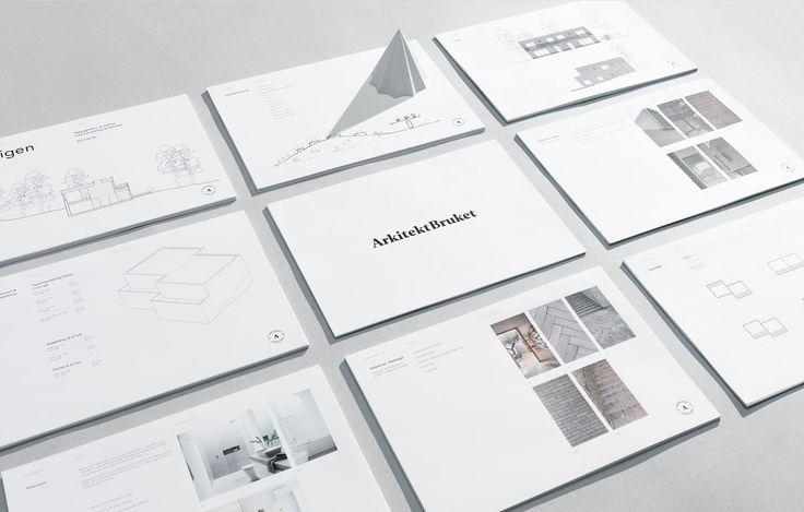 Presentation design for architecture firm — Presentationsdesign för arkitektbyrå