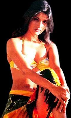 Sonali Bendre's old still from a photo-shoot