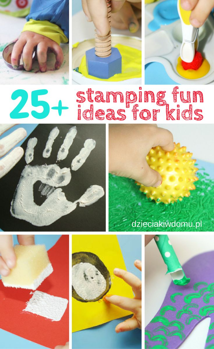 stamping activities for kids