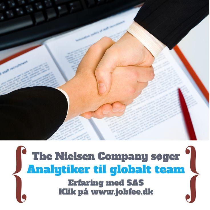 Kan du programmere i SAS? Er du analytisk? klik her: http://jobfee.dk/ledige-jobs/2014/01/the-nielsen-company-soeger-erfaren-analytiker/  #dkjob #nytjob