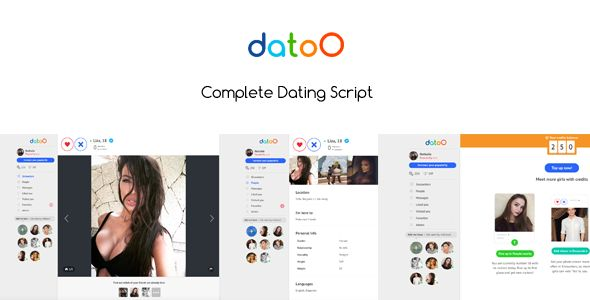 Download CodeCanyon  Datoo v1.0.1  Complete Dating Script Free