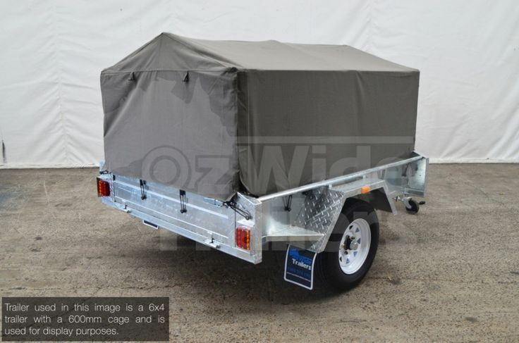 This Canvas Cover 600mm is suitable for our 7x5 trailer cage. If purchasing for another trailer brand, please contact the team first.