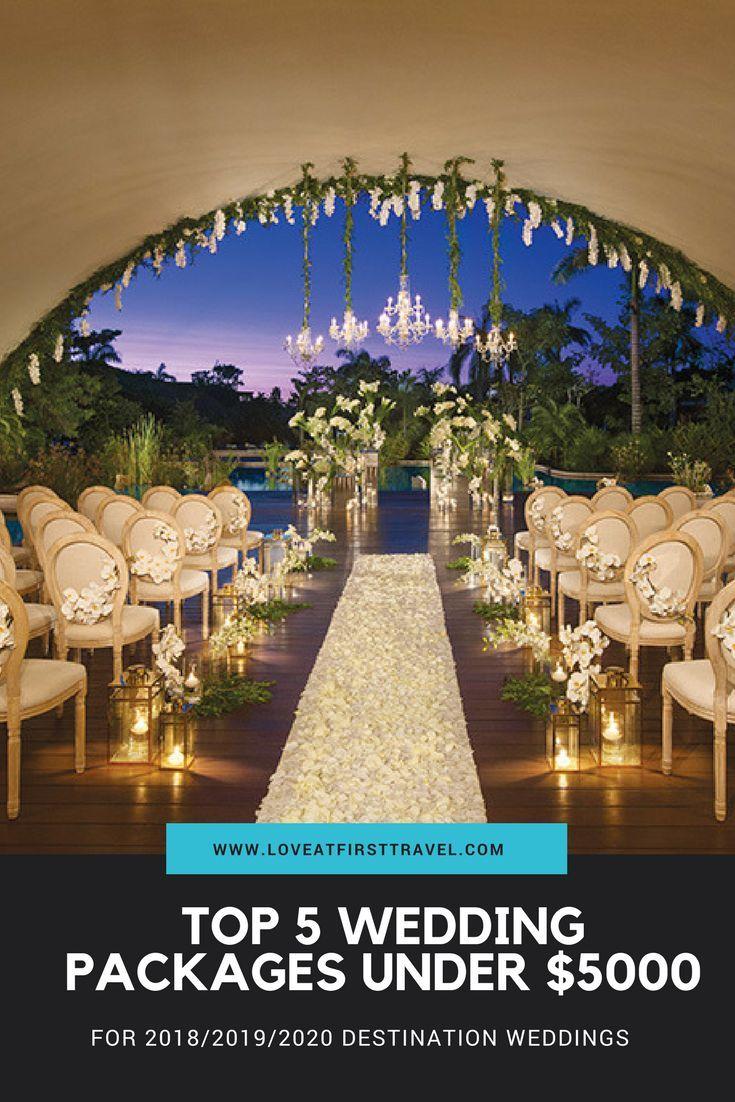 5 Weddings Under 5000 Destination Wedding Packages For