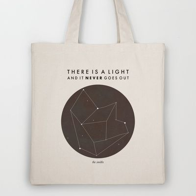 There Is A Light Tote Bag by Nan Lawson - $18.00
