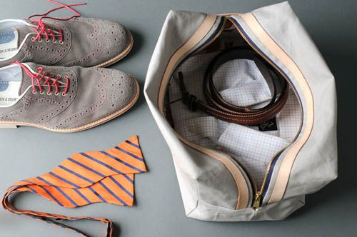 DIY Boxed Travel Pouch