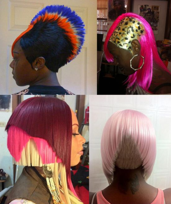 CRINGE - Crimes Of Hair Fashion That You Should Not Be Committing  Read the article here - http://www.blackhairinformation.com/general-articles/cringe-crimes-of-hair-fashion-that-you-should-not-be-committing/