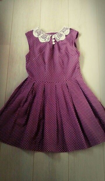 Dress with dots :)