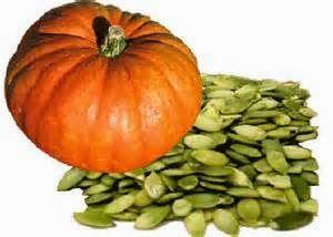 sementes de abóbora - benefícios para a próstata