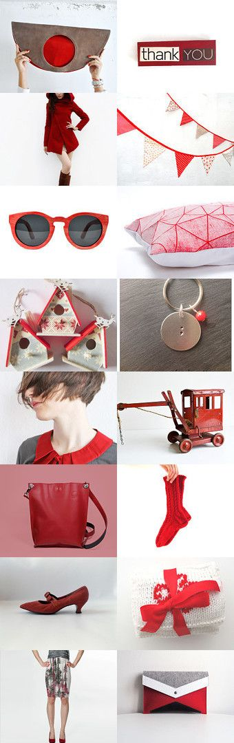 Lovely red gifts by Ima on Etsy--Pinned with TreasuryPin.com