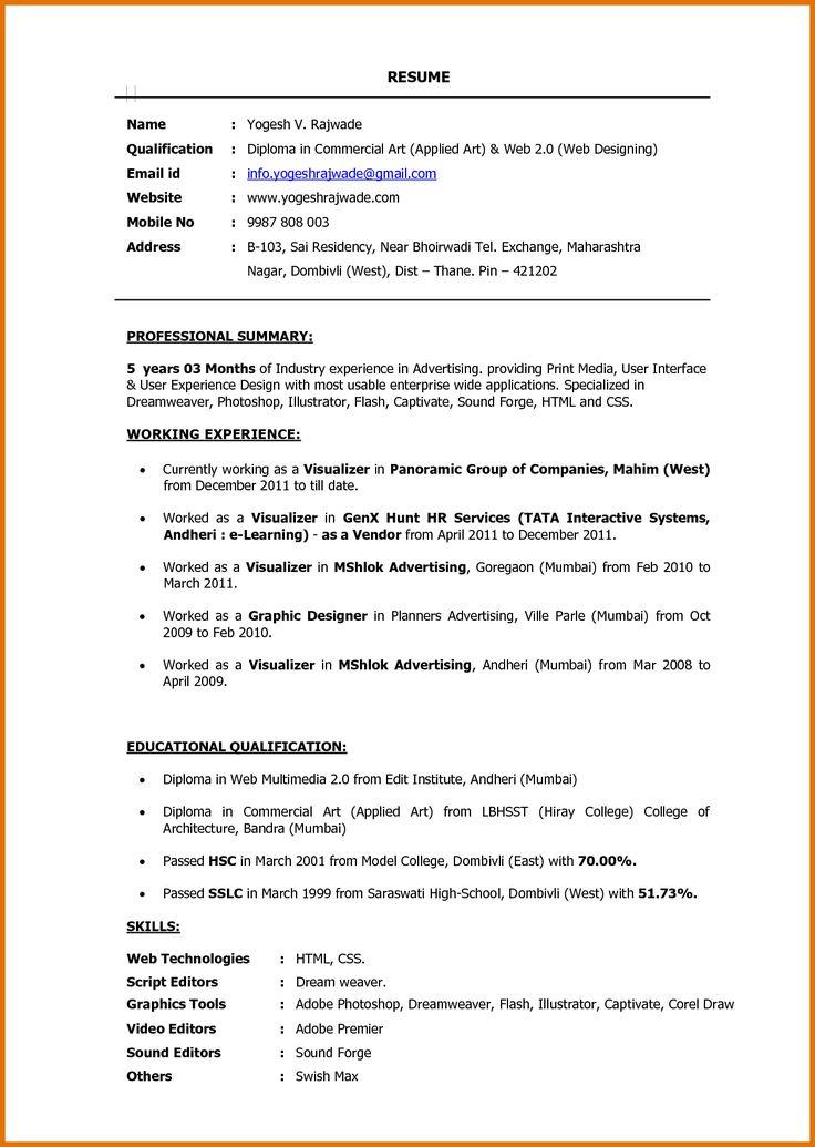 36 best CV \/ Resume images on Pinterest Advertising, Cleanses - full stack developer resume