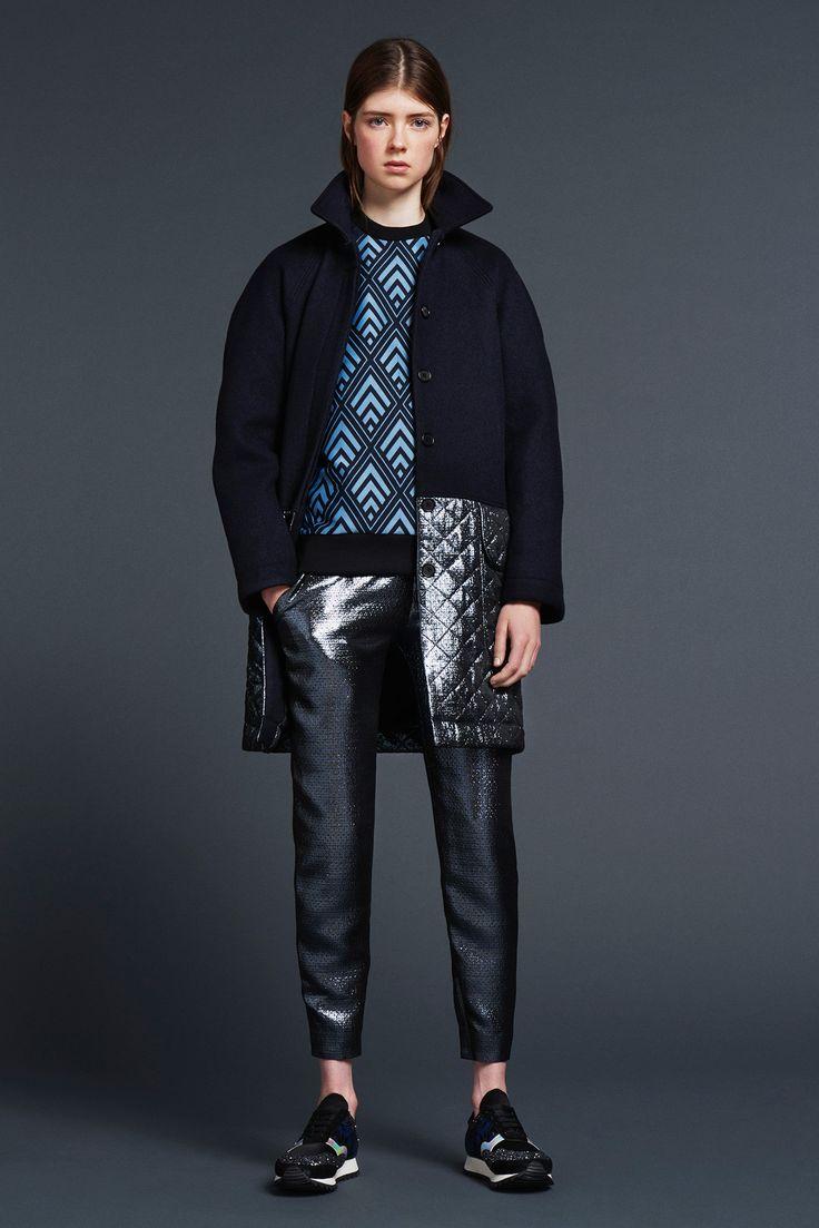 Markus Lupher.... #MarkusLupher #Fall2015 #tomboystyle #tomboypicks #menswearinspired #dopeouterwear #trousers