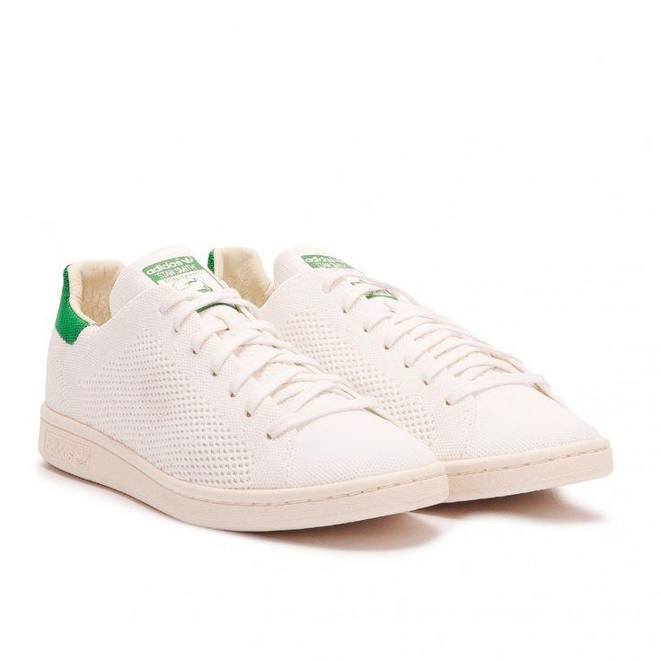adidas Stan Smith OG Primeknit (White / Green)