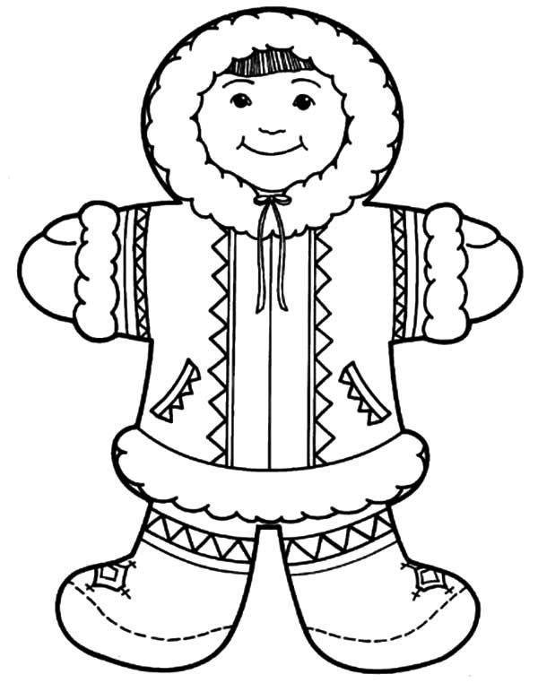 Национальный костюм ханты раскраска