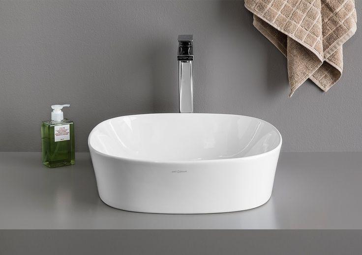 Ghost countertop washbasin #TheArtceram