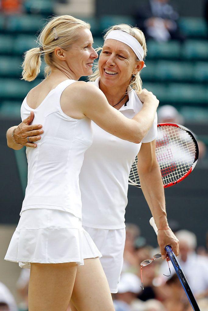 Martina Navratilova & Jana Novotna (Wimbledon 2010)