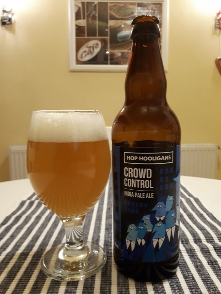 #423 HOP HOOLIGANS CROWD CONTROL India Pale Ale 6% ⭐⭐⭐⭐