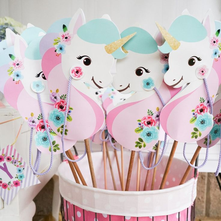 17 Best Images About Unicorn Rainbow Party On Pinterest Horns Pastel And Rainbow Unicorn