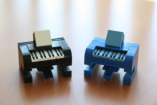 Lego Pianos | Flickr - Photo Sharing!